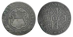 Switzerland, Solothurn. Batzen 1826 (23mm, ...