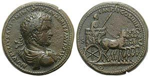 Paduan Medals, Caracalla (198-217). Æ ...