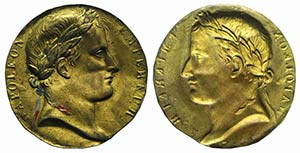 France, Napoleon Bonaparte (1804-1814). Gilt ...
