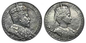 Great Britain, Edward VII (1901-1910). AR ...
