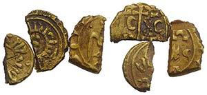 Italy, Sicily, lot of 3 AV Tarì Fragments ...