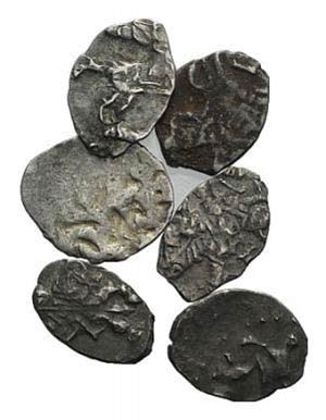 Lot of 6 AR fractions, to be catalog. Lot ...