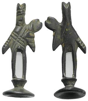 Roman Bronze Figurine, c. 1st century BC - ...