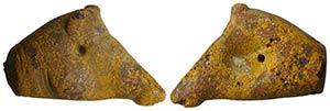 Greek Amber Boar Head, c. 3rd century BC ...