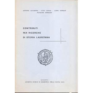 AA. VV. -  Contributi per ricerche di storia ...