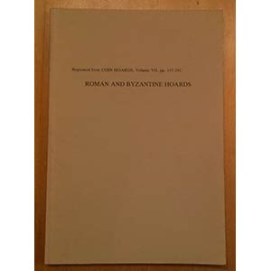 AA.VV. Roman and Byzantine Hoards. Reprinted ...