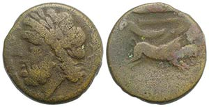 Northern Apulia, Arpi, 3rd century BC. Æ ...