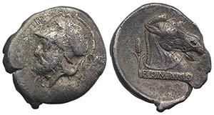 Anonymous, Neapolis, c. 310-300 BC. AR ...