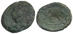 Anonymous, Southern Italy, c. 260 BC. Æ ...