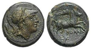 Club series, Rome, c. 230-226 BC. Æ (14mm, ...