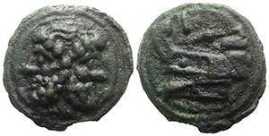 Anonymous, Rome, c. 217-215 BC. Æ As (52mm, ...