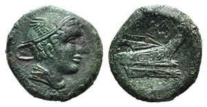 Anonymous, Rome, 217-215 BC. Æ Semuncia ...