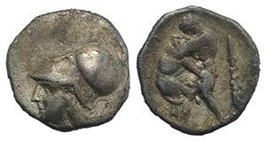 Northern Apulia, Teate, c. 325-275 BC. AR ...