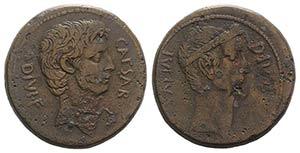 Octavian and Divus Julius Caesar, South ...