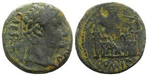 Augustus (27 BC-14 AD). Æ As (24mm, 8.03g, ...