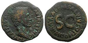 Augustus (27 BC-AD 14). Æ As (27mm, 10.58g, ...