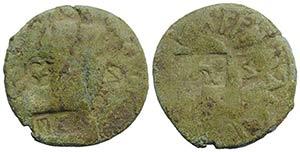 Augustus (27 BC-AD 14). Æ As (27mm, 7.73g). ...