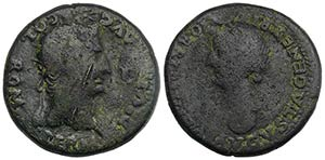 Divus Augustus (died AD 14). Spain, Romula. ...