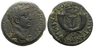 Tiberius (14-37). Æ Dupondius (29mm, ...