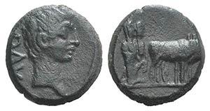 Tiberius (14-37). Macedon, Philippi. Æ ...