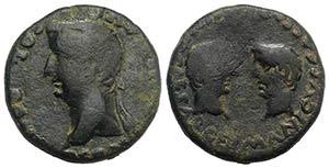 Tiberius with Germanicus and Drusus Caesars ...