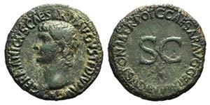 Germanicus (died AD 19). Æ As (28mm, ...