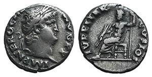Nero(54-68). AR Denarius (17mm, 3.49g, ...
