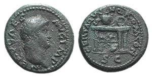 Nero(54-68). Æ Semis (17mm, 4.22g, 6h). ...