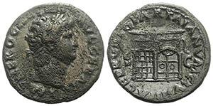Nero (54-68). Æ As (28mm, 9.26g, 7h). Rome, ...