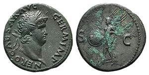 Nero (54-68). Æ As (26mm, 9.96g, 6h). Rome, ...