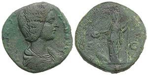 Julia Domna (Augusta, 193-217). Æ ...