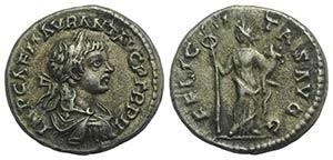 Caracalla (198-217). AR Denarius (18mm, ...
