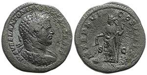Caracalla (198-217). Æ Sestertius (33mm, ...