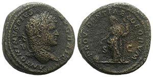 Caracalla (198-217). Æ As (25mm, 11.81g, ...