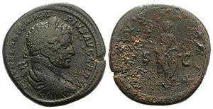 Caracalla (198-217). Æ Sestertius (32mm, ...