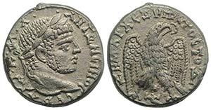 Caracalla (198-217). Seleucis and Pieria, ...