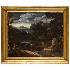 Cerchia di Gaspard Dughet (Roma, 1615 - ...