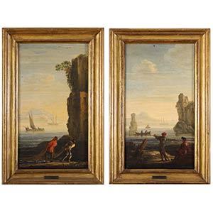Jan de Momper, detto Monsu X (Anversa, 1614 ...