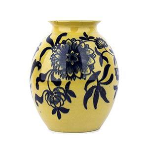 MELANDRI FOCACCIA - FAENZACeramic vase with ...