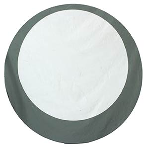 FONTANA ARTE (in style of)Round mirror, ...