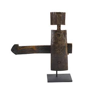 SERRATURA DOGON Mali36 X 38 cm In legno a ...