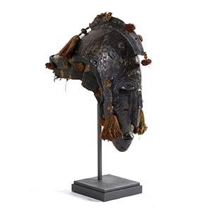 MASCHERA BOZO Mali46 x 40 cm Anima in legno ...