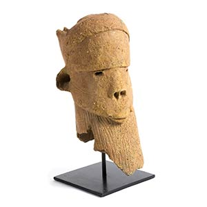 A SOKOTO MALE TERRACOTTA HEAD FROM ...