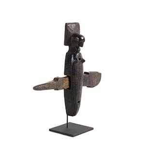 SERRATURA BAMBARA Mali44 x 43 cm In legno a ...