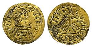 Visigoths, Spain, Leovigild (568-586). AV ...