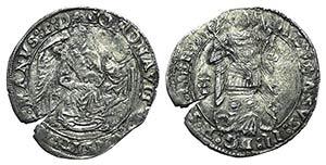 Italy, Napoli. Alfonso II (1494-1495). AR ...