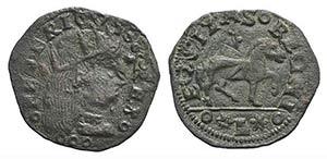 Italy, Napoli. Federico III dAragona ...