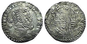 Italy, Napoli. Filippo II di Spagna ...