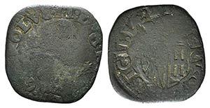 Italy, Napoli. Carlo II (1674-1700). Æ ...