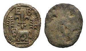 France or Italy, Lead Tessera, c. 17th ...